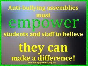Do anti-bullying assemblies work?